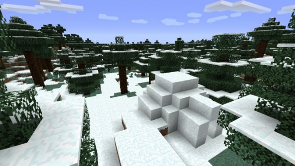Wintry Forest Minecraft Seed