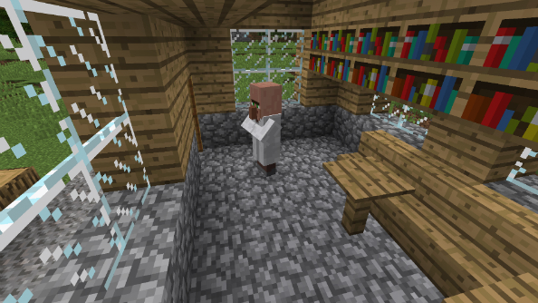 Library Minecraft Seed
